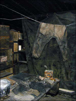 Discovery Hut Interior