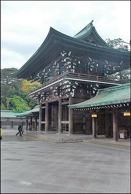 Meiji Shrine - Inner Gate
