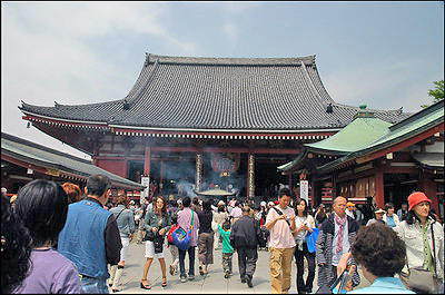 Sensoji Temple - Main Building
